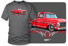 Image of 1967, 68, 69 Ford F100 - Truck T-Shirt - Ford F100 t-Shirt - $19.99 - Wicked Metal