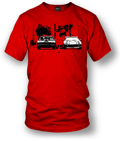 Supra vs Charger t-shirt, Fast and Furious t-shirt - Wicked Metal