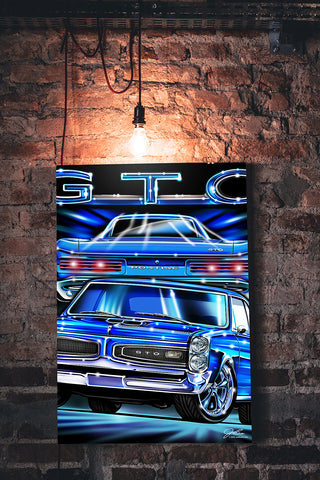 GTO wall art - garage art