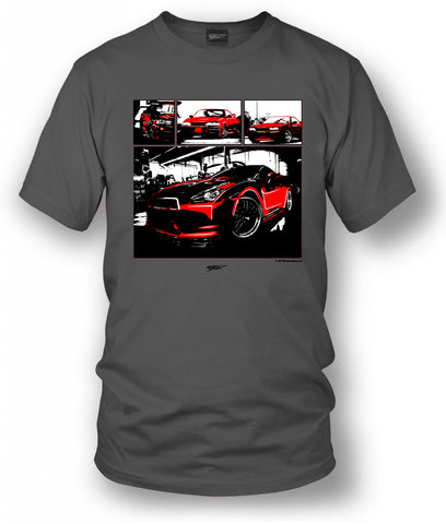 Nissan GTR All years, R32, R33, R34, R35 Tuner Car Shirt - Wicked Metal