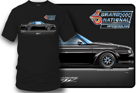 Image of Buick Grand National Shirt - Muscle Car T-Shirt - 1987 Grand National
