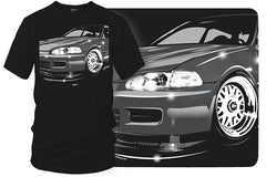 Honda Civic t shirt - Wicked Metal- $19.99 - Wicked Metal