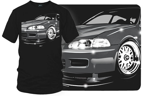 Image of Honda Civic t shirt - Wicked Metal - Wicked Metal