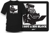 Image of Big Block t-shirt, drag racing, muscle car shirt - Wicked Metal- $19.99 - Wicked Metal