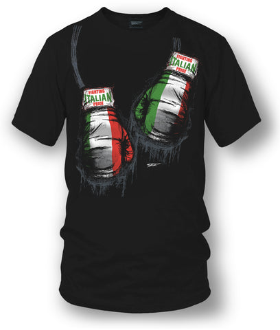 Italian Boxing Shirt, Italian Pride - Wicked Metal - Wicked Metal