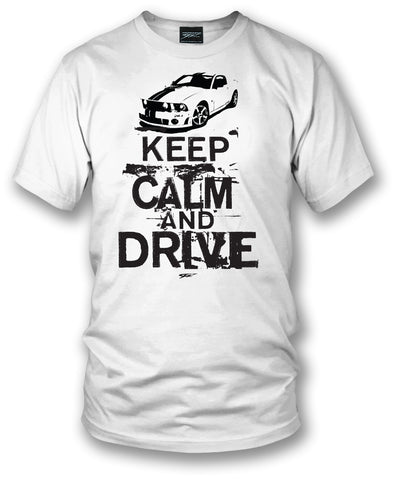 Image of Mustang shirt, Keep Calm & Drive, Mustang t-shirt all years - Wicked Metal