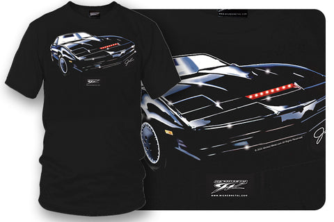 Knight Rider Kitt - Black Trans Am t shirt