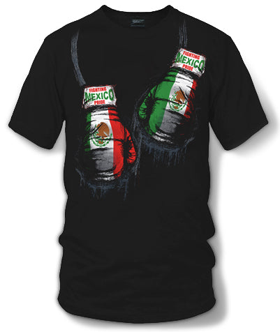Mexico Boxing Shirt, Mexican Pride - Wicked Metal - $19.99