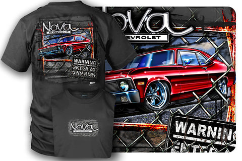 Chevy Nova - Muscle Car Shirt - $19.99 - Wicked Metal