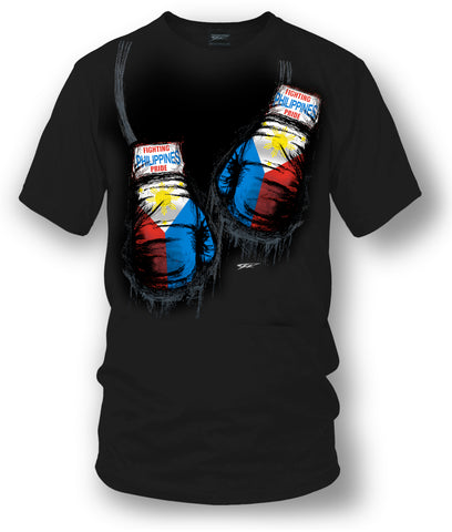Philippines Boxing Shirt, Filipino Pride - Wicked Metal