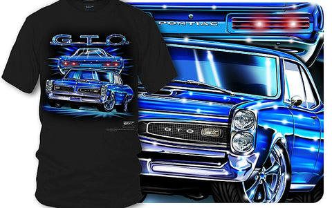 Image of Pontiac GTO Shirt - Muscle Car T-Shirt - 1966 GTO - Wicked Metal