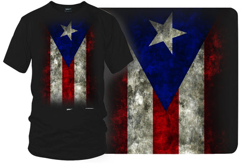 Puerto Rico Flag Shirt, Puerto Rico Pride - Wicked Metal - $19.99 - Wicked Metal