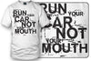 Image of Wicked Metal Run Your Car Not Mouth shirt, tuner car shirts- $19.99 - Wicked Metal