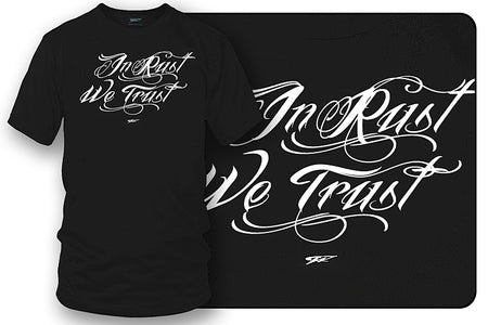 In Rust we trust, Muscle car shirts, Old Car Shirt - Wicked Metal - Wicked Metal