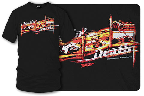 Sport bike shirts - Cheatin Death (Black) - $16.95 - Wicked Metal