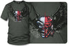 Image of Sport bike shirts - Fighter Pilot (OD Green)- $16.95 - Wicked Metal