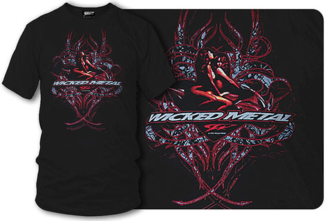 Image of Sport bike shirts - Girls Envy Lust - Wicked Metal