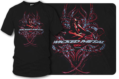 Sport bike shirts - Girls Envy Lust - Wicked Metal