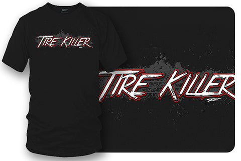Image of Tire Killer t shirt - Wicked Metal
