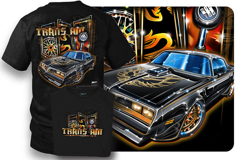 Image of Firebird Trans Am Shirt - 1977 Muscle Car Shirt - Wicked Metal
