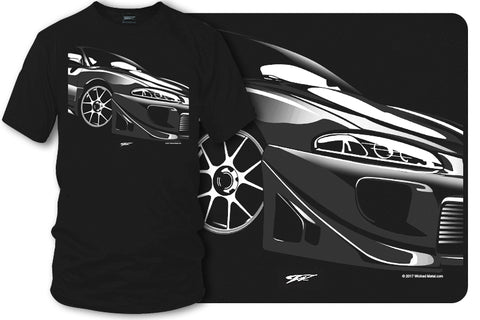 Image of Mitsubishi Eclipse t shirt - Wicked Metal - Wicked Metal
