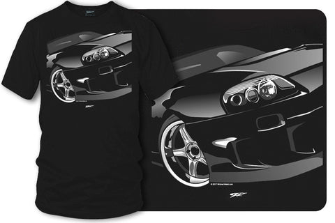 Toyota Supra t shirt - Wicked Metal- $19.99 - Wicked Metal