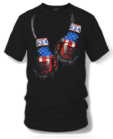USA Boxing Shirt, USA Pride - Wicked Metal - Wicked Metal