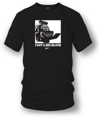 Big Block t-shirt, drag racing, muscle car shirt - Wicked Metal- $19.99