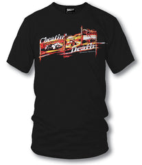 Sport bike shirts - Cheatin Death (Black) - $16.95