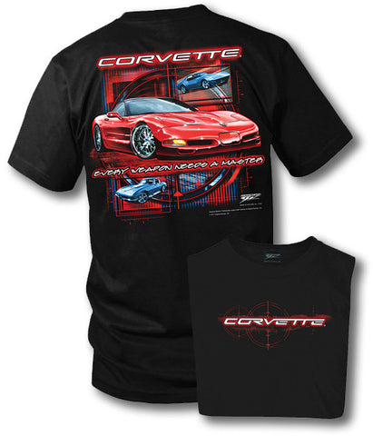 Image of Corvette shirt - Every Weapon - Corvette C5 shirt - Wicked Metal