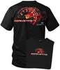 Image of Corvette c5 shirt - Redline - Tach Speedo - $19.99 - Wicked Metal