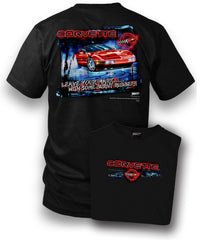 Corvette Shirt - Leave Your Mark - Corvette C4 shirt - $19.99