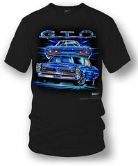 Pontiac GTO Shirt - Muscle Car T-Shirt - 1966 GTO - $19.99
