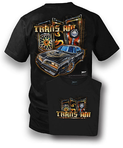 Firebird Trans Am Shirt - 1977 Muscle Car Shirt - $19.99 - Wicked Metal
