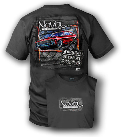 Image of Chevy Nova - Muscle Car Shirt - Wicked Metal
