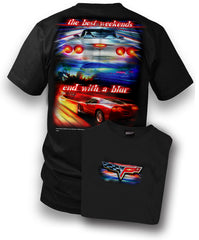 Corvette Shirt - Corvette C6 - Best Weekends - $19.99
