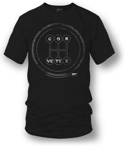 Corvette c7 t Shirt - C7 Style - Manual Stick shift- $19.99 - Wicked Metal