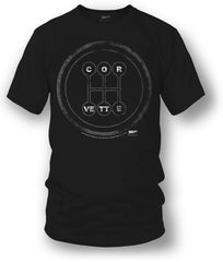 Corvette c7 t Shirt - C7 Style - Manual Stick shift- $19.99