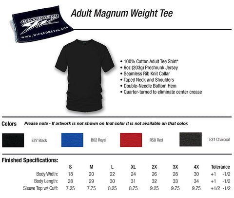 Image of Corvette c7 t Shirt - C7 Style - Manual Stick shift - Wicked Metal