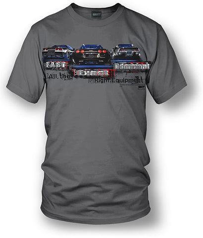 Corvette shirts - Fast, Exact, Dominant C3, C5, C6 shirt- $19.99 - Wicked Metal