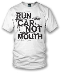 Wicked Metal Run Your Car Not Mouth shirt, tuner car shirts