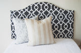 Sample Sale and Ready to Ship! Dorm headboard, Low-profile Camelback, Dorm Room Headboard, Dorm Decor, Graduation Gift, Bedroom Decor