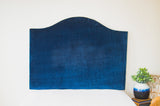 Tall Dorm Headboard, Twin Headboard, Velvet Fabric, Dorm Room Headboard
