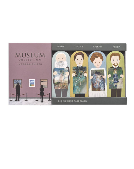 Impressionists Museum Collection page flags