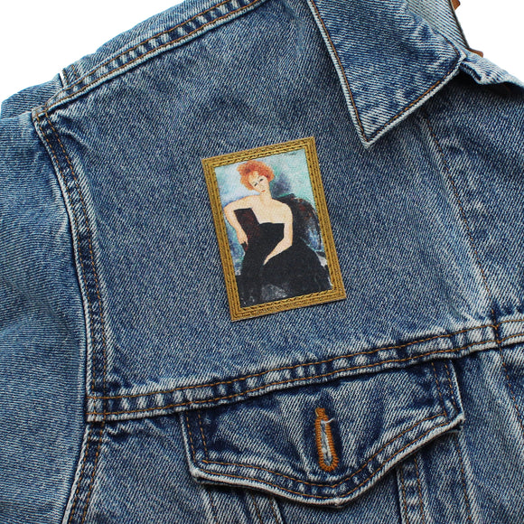 "Modigliani ""Redheaded Girl"" Artwork Patch"