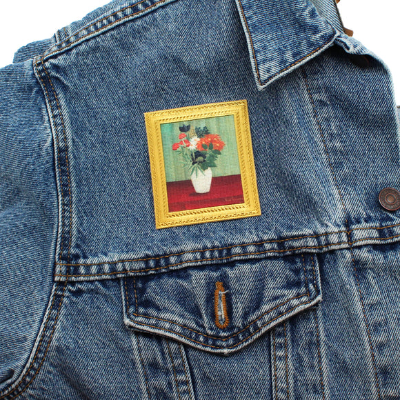 "Rousseau ""Bouquet of Flowers"" Artwork Patch"