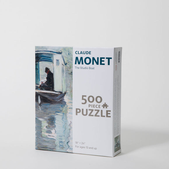 "Monet ""Studio Boat"" 500-piece Puzzle"