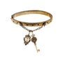 Barnes Foundation Metalwork-inspired charm bracelet