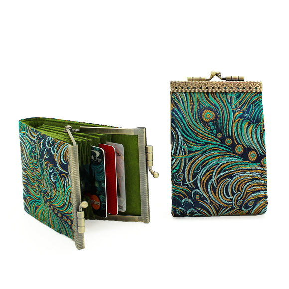 Satin Tapestry Card Holder