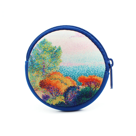 Cross Seascape Coin Purse